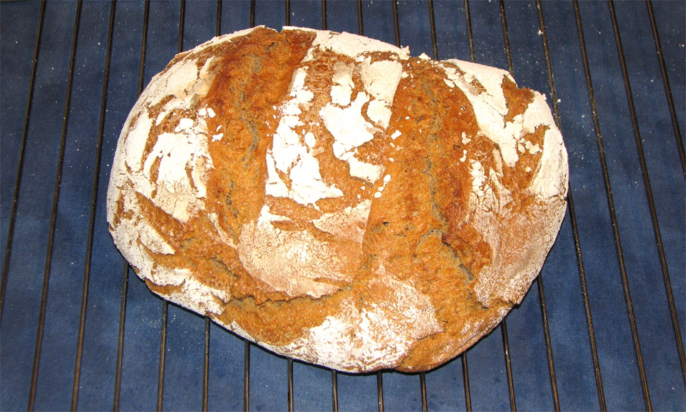 fertiges Roggenbrot
