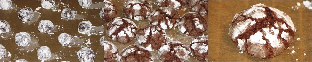 Geburtstagsessen - Schoko-Walnuss-Cookies